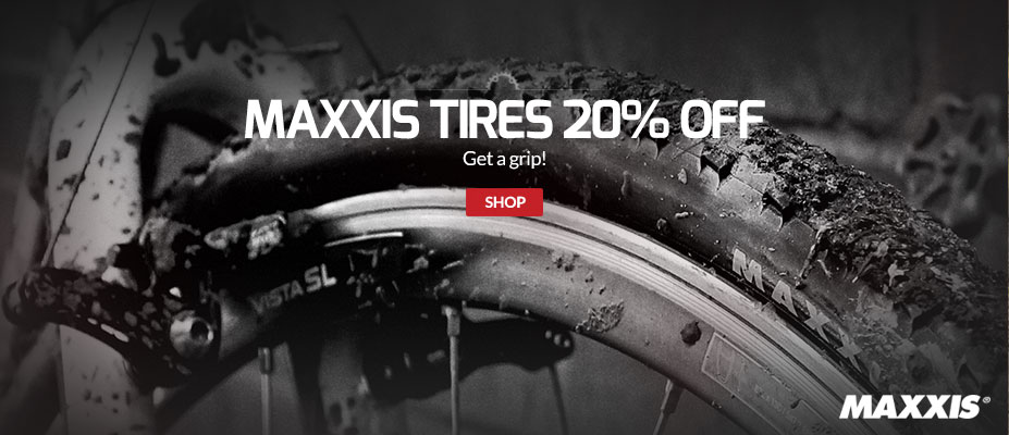 Maxxis 20% off