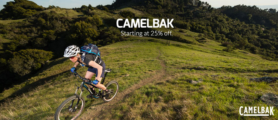 25% or more off Camelbak