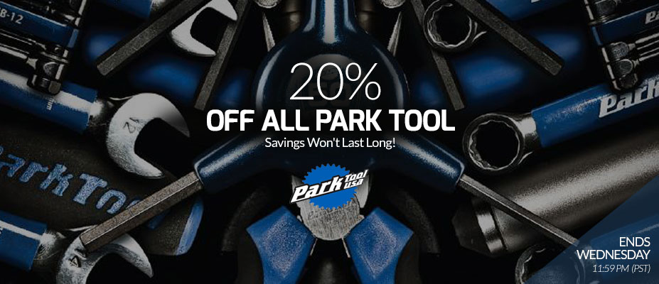 Park Tool 20% off
